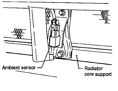 Outside air temp sensor location wiring source 2002 trailblazer exterior temperature sensor
