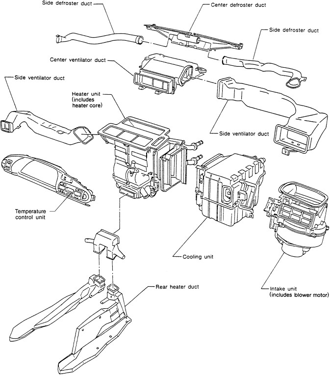 216498 Howto Manual Automatic Digital Climate Control Conversion on 2002 nissan frontier wiring diagram electrical system troubleshooting